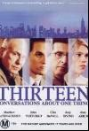 Thirteen Conversations About One Thing (2001) cover