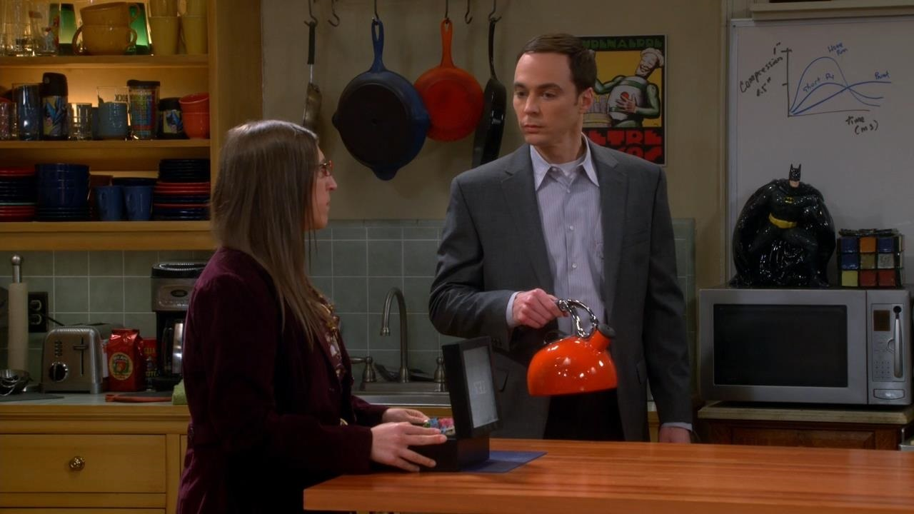 The big Bang Theory s08e03 the First Pitch Insufficiency