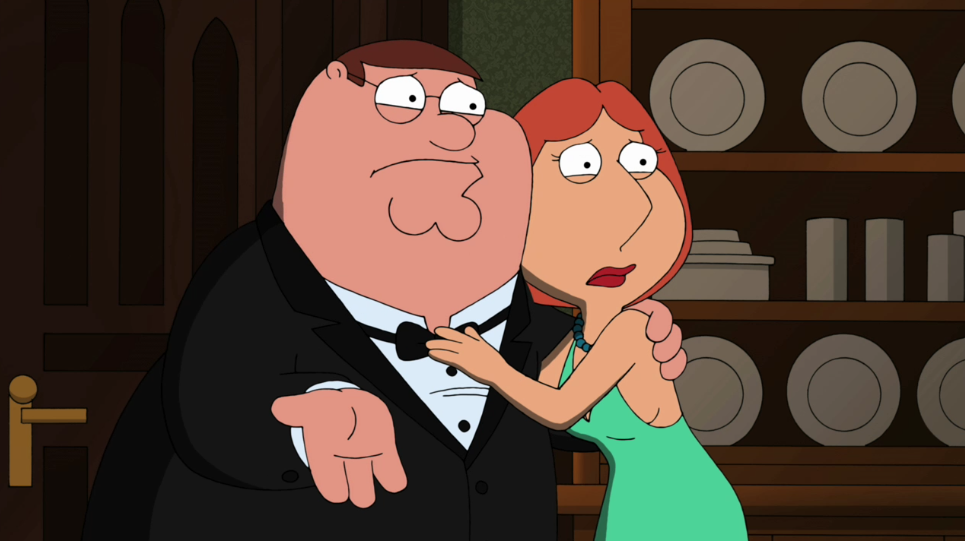 Family guy peter and lois in bed toonwildcom - 4 10