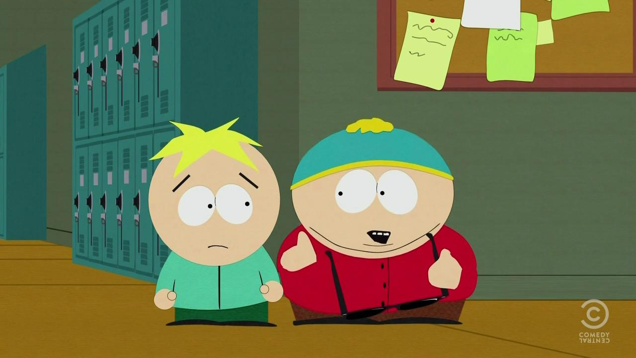 cartman finds love south park Cartman, who struggles to understand his friends' relationship, finds he has an admirer of his own.